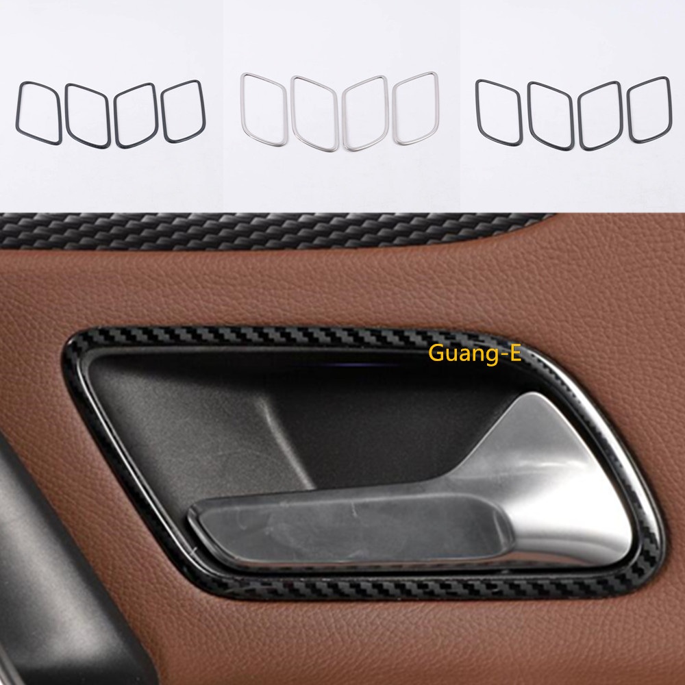 For Mercedes Benz A Class W177 A180 <font><b>A200</b></font> A250 2019 2020 Car Stainless steel cover stick trim door inner internal handle bowl image