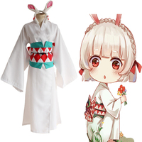 Game Onmyoji Cosplay Costume Mountain rabbit Cosplay Costume Kimono Halloween Carnival Party Cosplay Costume