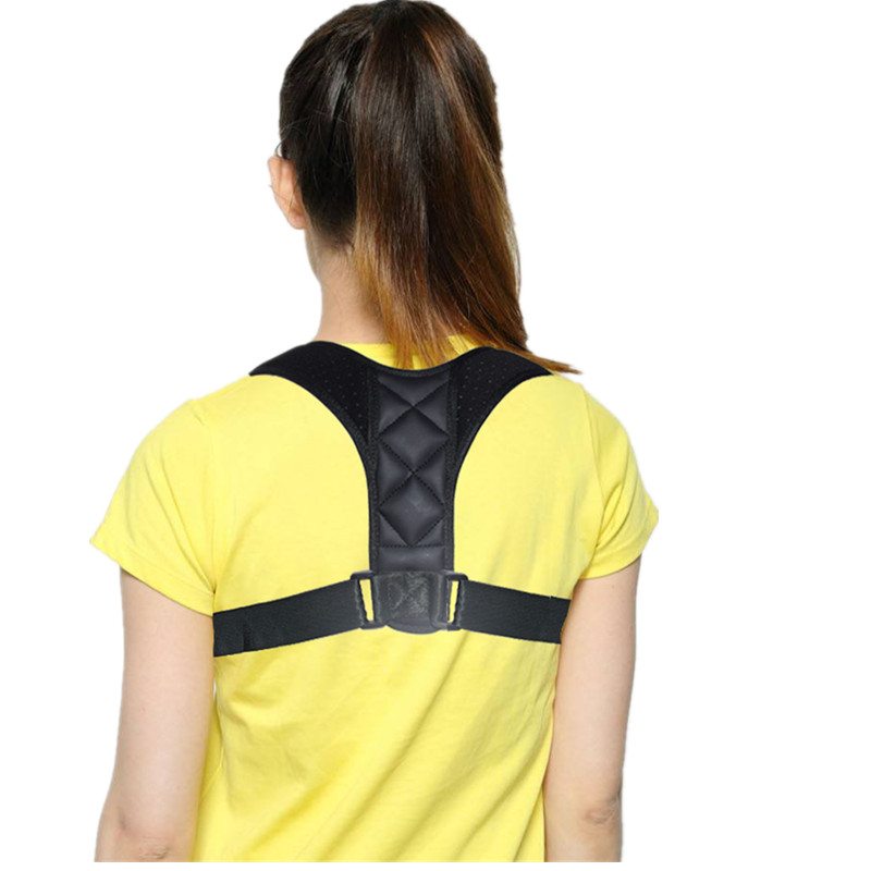 SIELENSON Adjustable Clavicle Posture Corrector Belt for Men and Women to Pull and Straighten Upper Back and to Improve Whole Body Posture 5