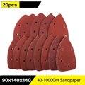 Самостроительные треугольные наждачные диски с 5 отверстиями Delta SanderHook Loop 20 шт., абразивные инструменты для полировки зернистости 40-1000