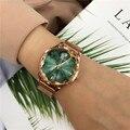 Mostrador redondo relógio de quartzo para senhoras relogios 2019 venda quente relógio