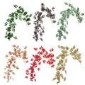 Fontes de casamento da selva 170 cm videiras artificiais verde salgueiro plantas rattan hera, falso salgueiro de seda videira aniversário festa decorações casa
