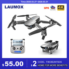 Laumox SG907 Gps Drone Met 4K Hd Aanpassing Camera Groothoek 5G Wifi Fpv Rc Quadcopter Professionele Opvouwbare drones E520S E58(China)
