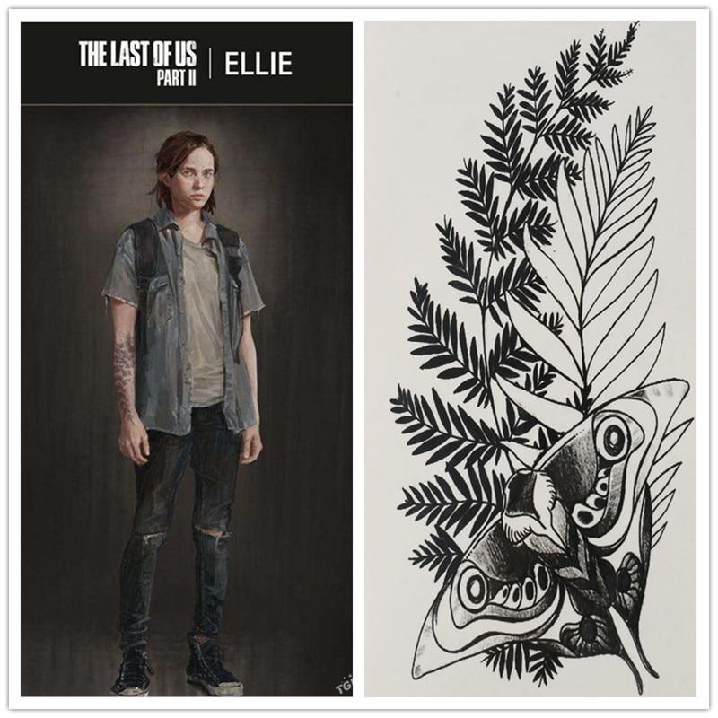 The Last of Us Part II Ellie Fake Tattoo 1