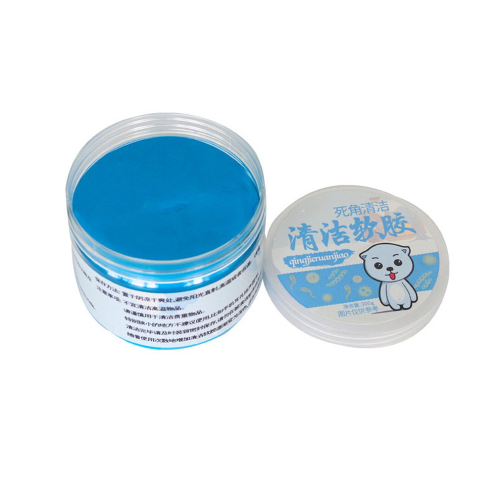 300g Crystal Version Clean Soft Plastic Cleaning Mud Computer Keyboard Cleaning Gel Magic To Dust