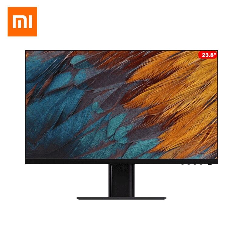 Монитор Xiaomi Mijia для офисных игр диагональю 23,8 дюйма, жесткий IPS экран, угол обзора 178 °, 1080P HD, мультиинтерфейс