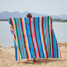 Outdoor Serape Blanket Home Decor Sofa Cover Bedding Winter Warm For Beds Car Office Nap Travel Blankets Textile