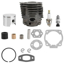 Chainsaw Parts Home Garden Durable Replacement Easy Install Ring Intake Cylinder Piston Gasket Kit Courtyard For Husqvarna 51(China)