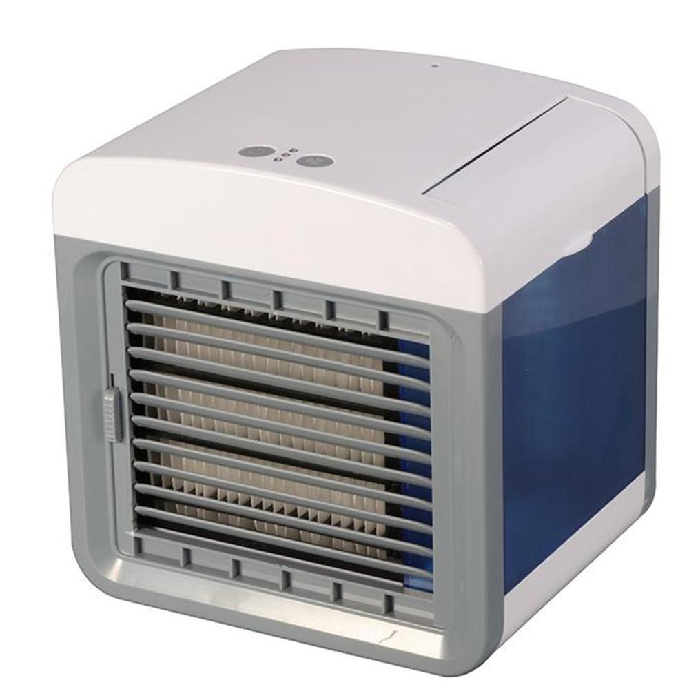 Mini Ventilador de Refrigeração de Ar Portátil Ventilador Refrigerador de Ar para o Office Home USB Condicionador de Ar Condicionado Ventilador Umidificador Purificador De Ambiente de Trabalho