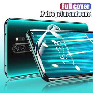 Image 5 - 2pcs Screen Protector Hydrogel Film Für Xiaomi Redmi hinweis 7 8 9 5 10 pro Schutz Film Auf Redmi 9 9A hinweis 9S 9 4X 7A Nicht Glas