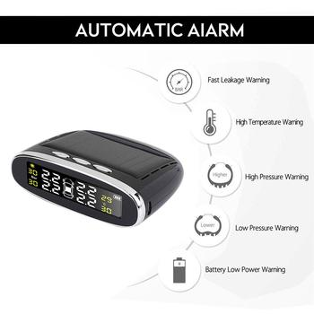 2020 Tire Pressure Alarm TPMS 4PCS Sensor Car Auto Tire Pressure Monitoring New Windshield Tire Pressure Monitoring System