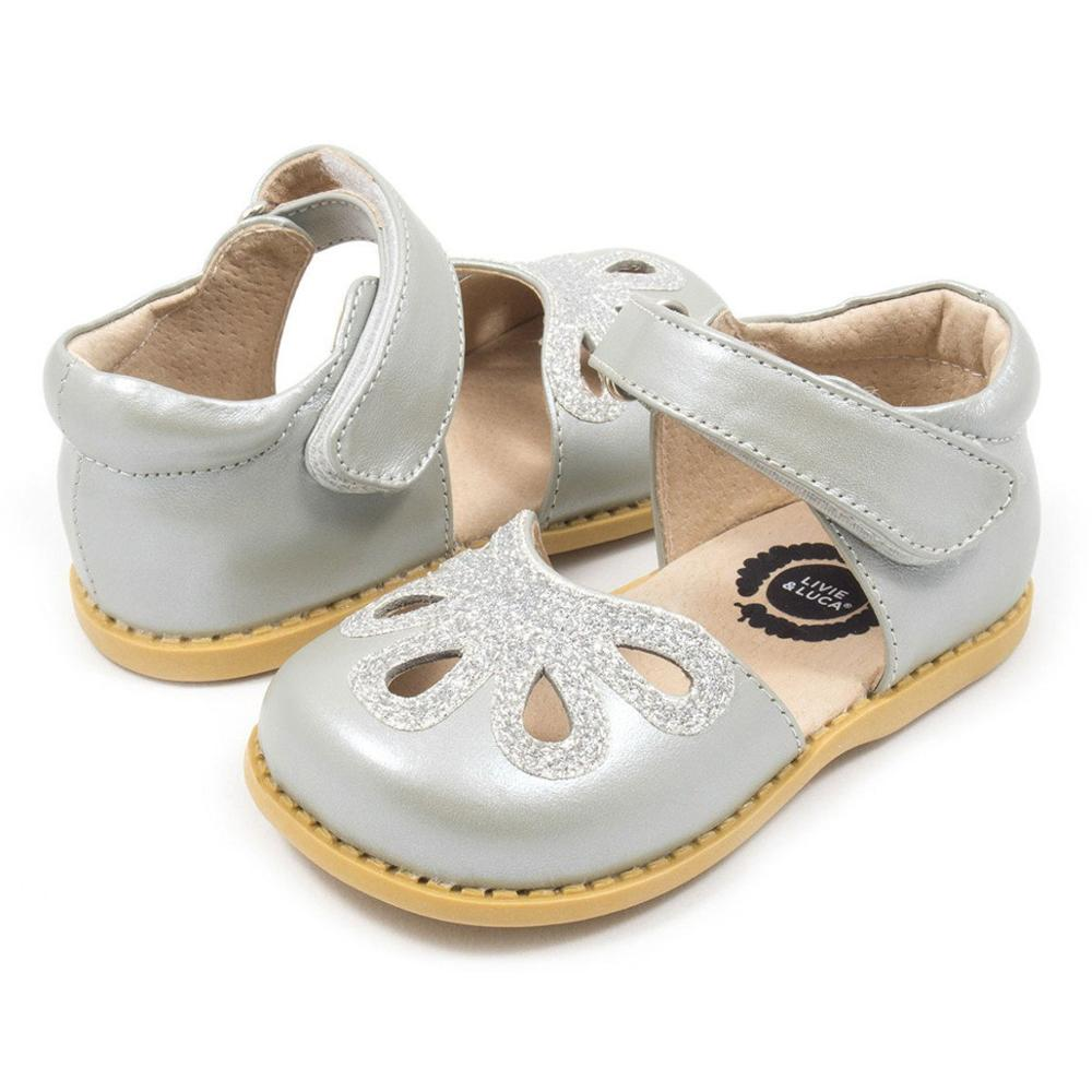 Anne ve Çocuk'ten Sandaletler'de Livie ve Luca Patel yaz çocuk kız çiçek ayakkabı çocuklar düz bebek sandalet Toddler kız title=