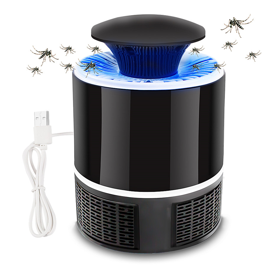 USB Mosquito Killer Lamp/ Anti Mosquito Trap Electric Mosquito Lamp Home LED Bug Zapper Mosquitos Killer Insect Trap Lamp