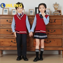 A-Uniform Clothing-Set Girl LINLING Kid Japanese British-Style Boy Student Outfit Kindergarten