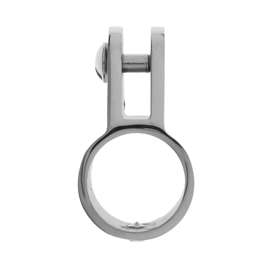"1/"" Bimini Top Canopy Hardware Fitting-Marine Stainless Steel Eye End Cap"