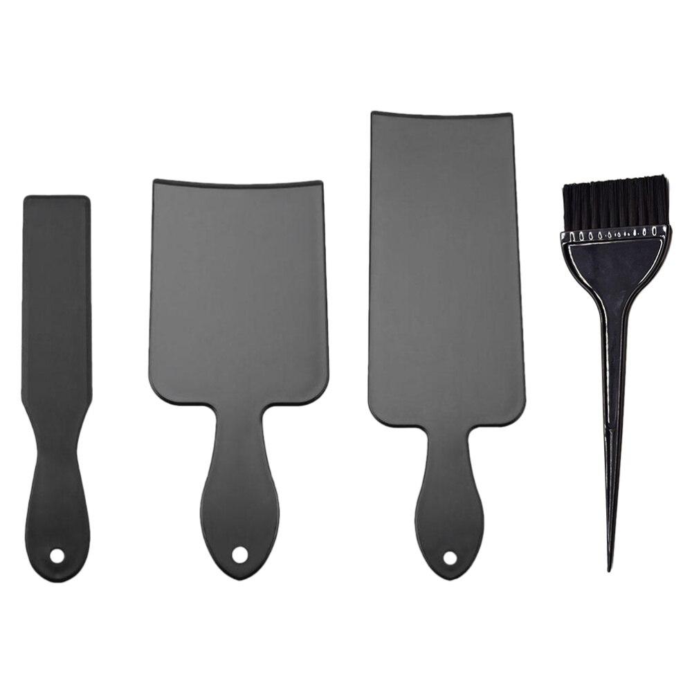 Conjunto de Plástico Ferramenta para Casa Cabelo Tintura Placa Fácil Uso Colorir Ferramenta Kit Faça Você Mesmo Tingimento Conjunto Portátil Barbearia 1 Mod. 112268
