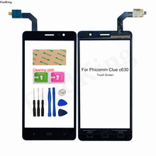 Touch Screen For Phicomm Clue C630 C630lw C730 C730lw Touch Screen Digitizer Panel Front Glass Sensor Tools 3M Glue