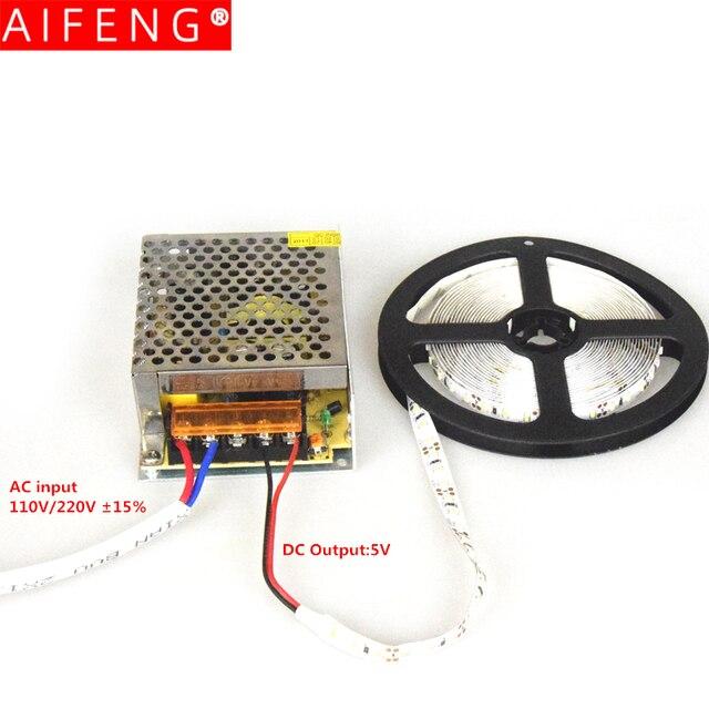 Fuente de alimentación conmutada AIFENG DC 5V 110V / 220V a dc 5V 4A 5A 6A 10A 20A 60A 5V 220v a 5v transformador de fuente de alimentación