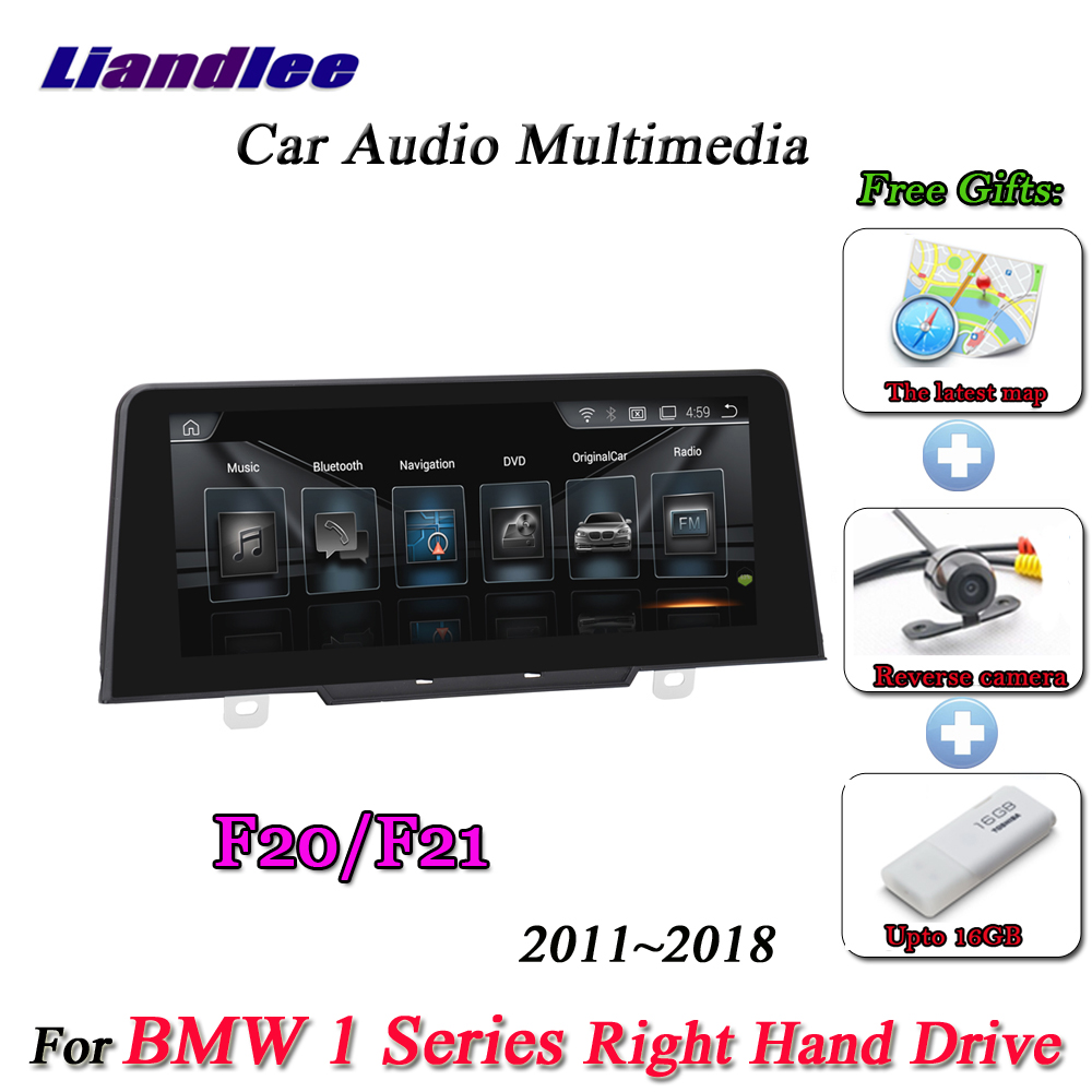 Liandlee For <font><b>BMW</b></font> 1 Series <font><b>F20</b></font> F21 Right Hand Drive 2011~2018 <font><b>Android</b></font> Original NBT Radio BT GPS Navi Navigation Multimedia NO DVD image