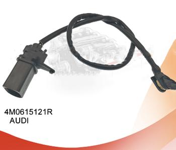 LEESAFE 10 sztuk OE nr 4M0 615 121R czujnik hamulca dla AUDI Volkswagen klocek hamulcowy zużycie kontakt ostrzegawczy 4M0 615 121 R OEM 4M0615121R tanie i dobre opinie