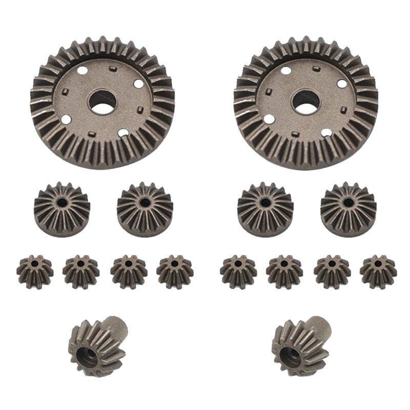Upgrade Metal Gear 30T 24T 12T Differential Driving Gears 0011/0012/0013/0014 For Wltoys 12428 12429 RC Car Spare Parts