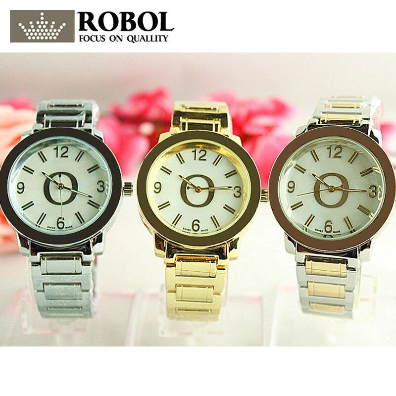RLLEN Stainless Steel Men Women Couples Quartz Watches Fashion Luxury Jewelry Gift Temperament Retro Generous Original Copy