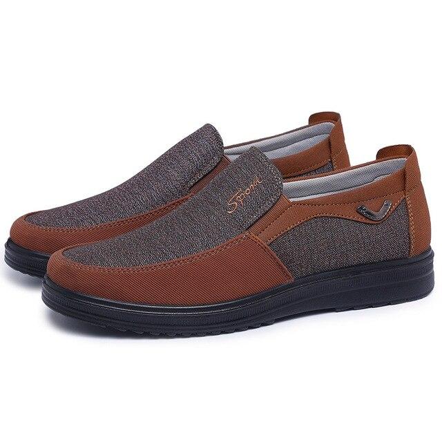 Парусиновые мужские туфли 5