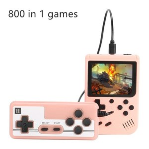 NEW 800 IN 1 Retro Video Game Console Handheld Game Portable Pocket Game Console Mini Handheld Player for Kids Player Gift