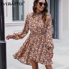 Женское платье с цветочным принтом everafter Элегантное повседневное