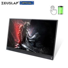 ZEUSLAP NEW 15.6inch Battery Touching Portable Monitor touch screen