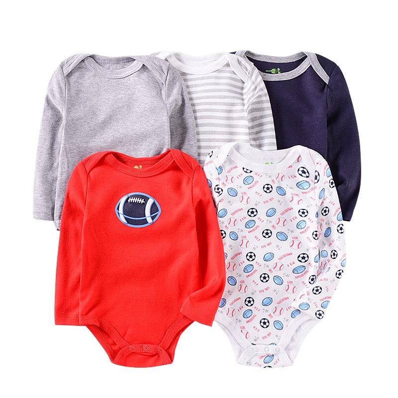 Image 4 - Baby Cotton Rompers Infnat Long Sleeve Clothes Kids Bodysuit Cute Cartoon Pattern Jumpsuit Newborn Clothing Unisex 0 12MonthsBodysuits   -