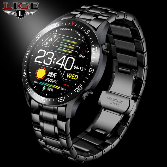 LIGE Sport IP68 Smartwatch
