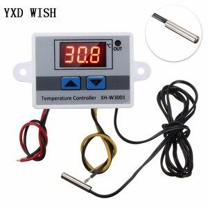 XH-W3001 Digital Temperature Controller Thermostat W3001 110V 220V 12V 24V Thermoregulator Aquarium Incubator Temp Regulator