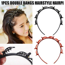 2pcs/set Double Bangs Hairstyle Hairpin Hairdressing Hairpin Easy to Use Clip(China)