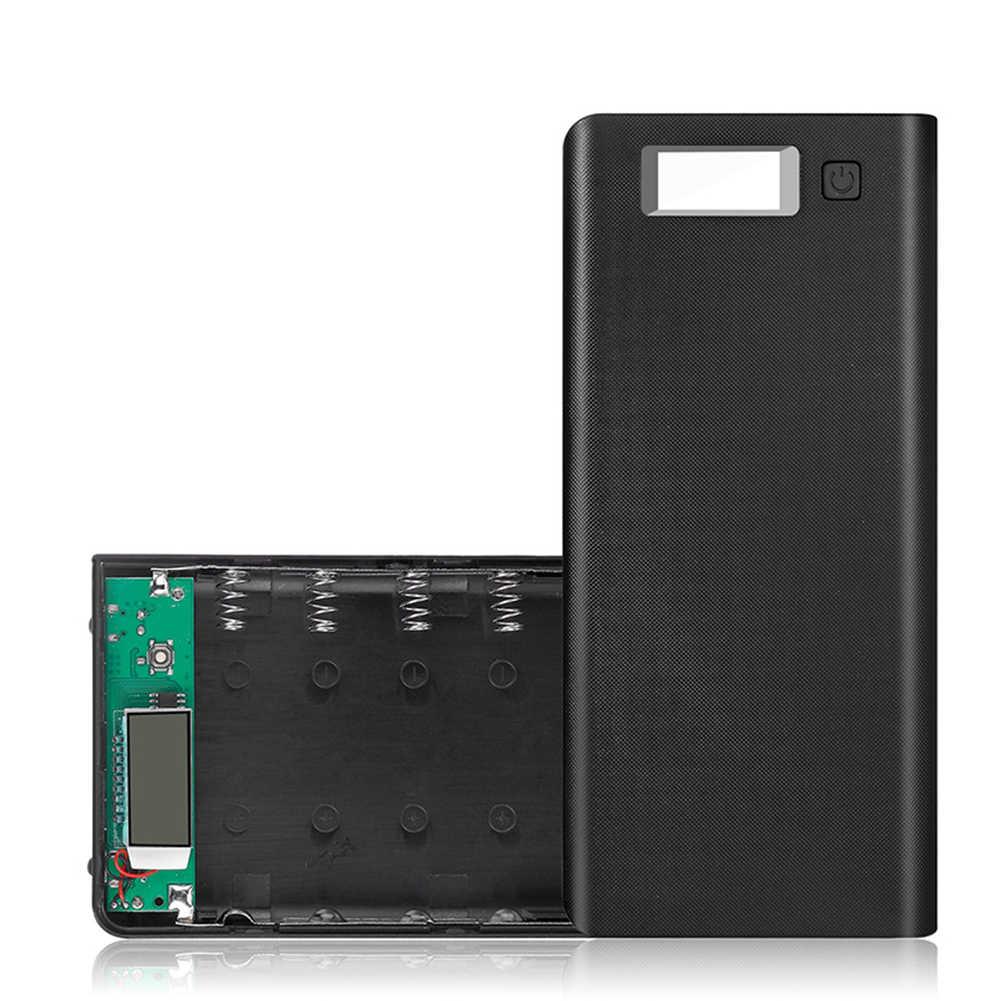 صندوق شاحن (بدون بطارية) بنك الطاقة مزدوجة usb صندوق دعم لتقوم بها بنفسك تخزين الطاقة المحمول تنظيم شاشة ديجيتال LED