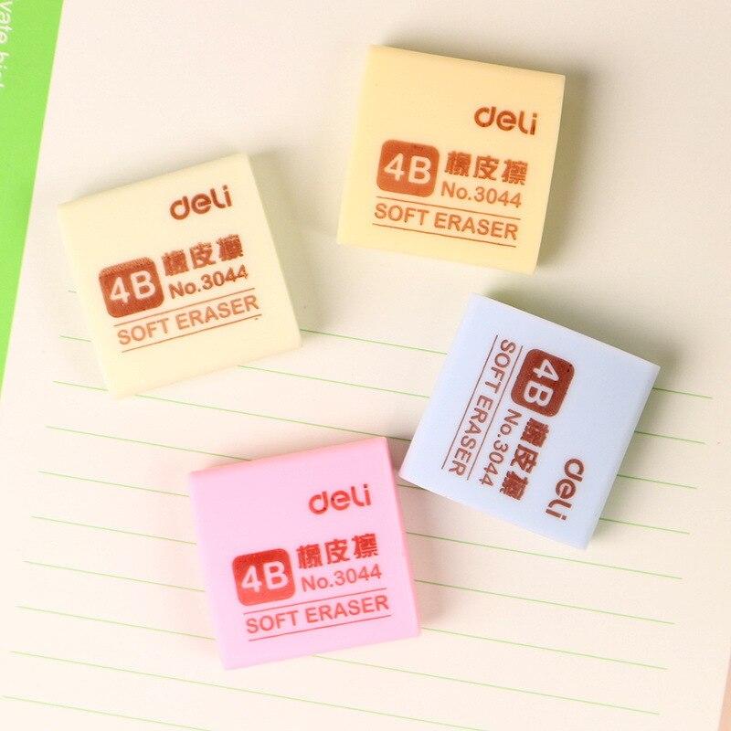 Deli Stationery 3044 Rubber Eraser 4B Rubber Eraser Color Fine Art Rubber