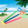 3pcs set Drift Play Stretchable Random Color Interactive Kids Toy Single Pipe Durable Draw Type Water Blaster Squirt Soakers flash sale