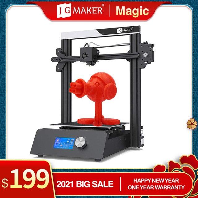 JGMAKER Magie 3D Drucker Aluminium Rahmen DIY KIT Große Druck Größe 220x220x250mm Druck Masken Schnelle verschiffen EU Russland Lager