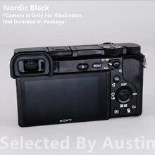 Naklejka na aparat fotograficzny folia owijająca Protector do Sony A6400 a6300 Alpha odporna na zarysowania kalkomania