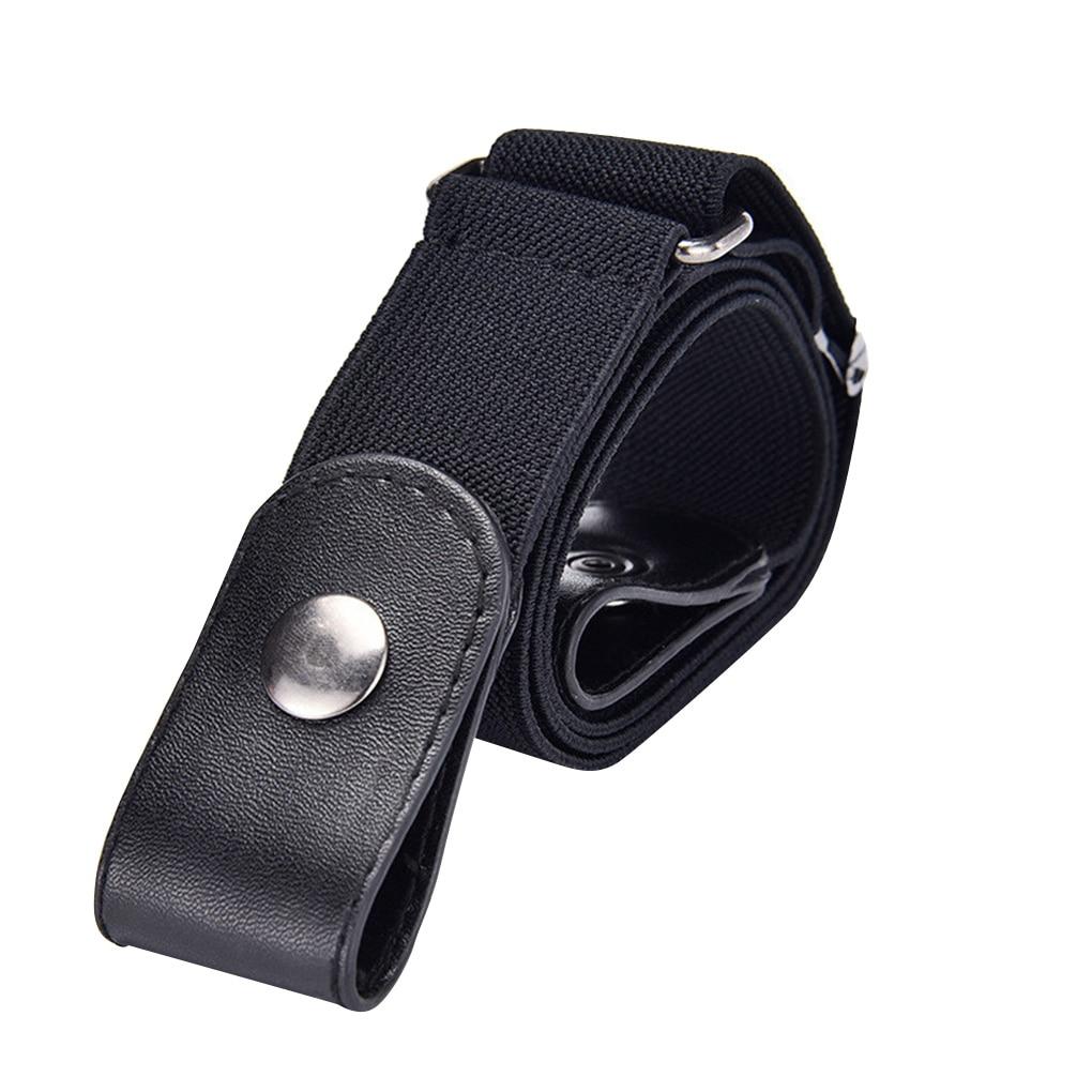 Elastic Invisible Belt Woven Fabric Traceless Unisex Waist Belt Fashionable Jean Belt Easy Belt Without Buckle free Belts