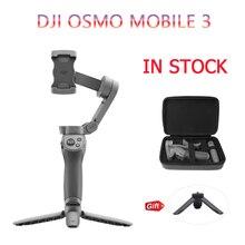 Складной 3-осевой стабилизатор DJI Osmo Mobile 3 ручной подвес для смартфона Gopro экшн-камера для телефона 8 для телефона 11