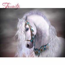 Plein carré diamant peinture Animal point de croix 5D artisanat bricolage diamant broderie vente cheval Kits de décoration de la