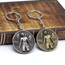 Брелок для выживания джедая мужчин и женщин цепочка ключей в