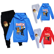 Kids Tracksuit Boys Clothes Set Hoodies and Pants Teenage Sportwear Clothing Spo
