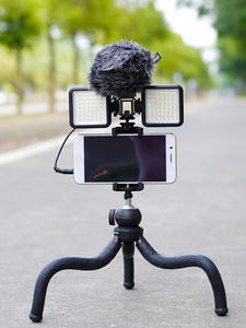 Octopus Tripod Bracket-Stand Phone Digital-Camera Travel Flexible Outdoor Mini Gopro