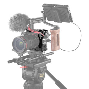 Image 5 - SmallRig a7iii a7r3 a7m3 Cage For Sony A7RIII /A7III/A7MIII Aluminum Alloy Cage To Mount Tripod Quick Release Extension Kit 2087