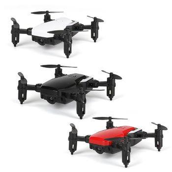цена Mini LF606 Foldable Wifi FPV 2.4GHz 6-Axis RC Quadcopter Drone Helicopter Toy онлайн в 2017 году