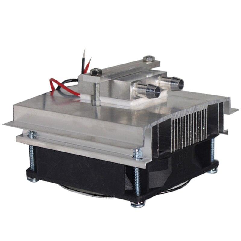 50 ワット Diy 熱電クーラー冷却システム半導体冷凍システムキットヒートシンクペルチェクーラーため 15L 水