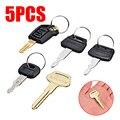 5 шт. набор ключей для экскаватора Замена ключей зажигания для экскаватора Hitachi Kobelco Komatsu Kubota бульдозер экскаватор