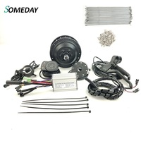 SOMEDAY Front without Wheel Electric Bicycle Conversion Kit 36V 250W Motor Controller with KT LED900S Display E bike Kit|Conversion Kit| |  -